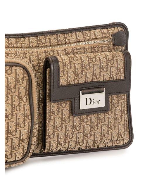Dior プレオウンド ストリートシック トロッター ベルトバッグ Brown