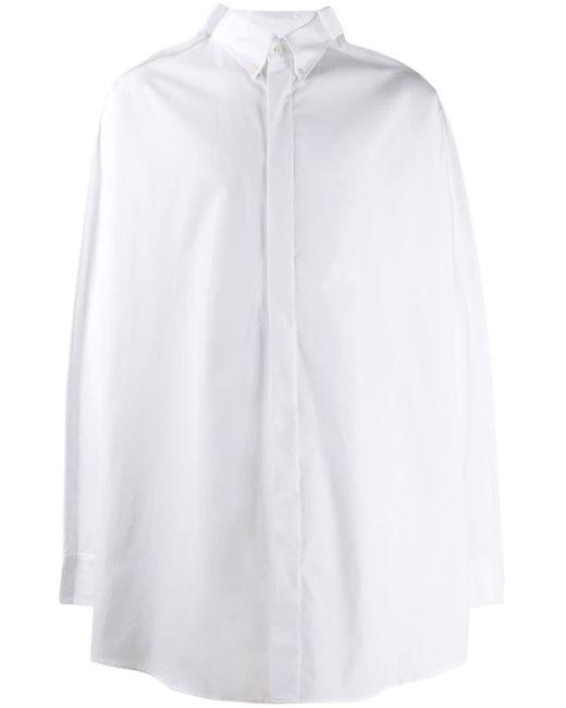 メンズ Maison Margiela オーバーサイズ シャツ White