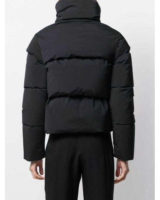 Rossignol キルティング パデッドジャケット Black