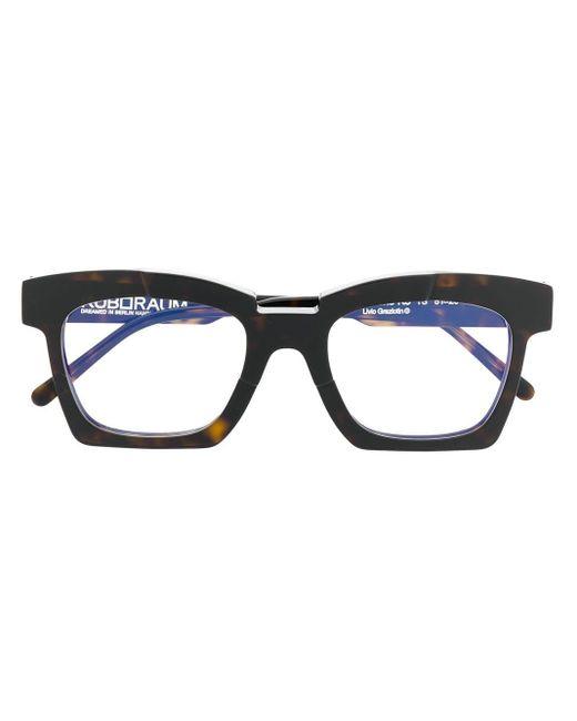 メンズ Kuboraum スクエア 眼鏡フレーム Multicolor