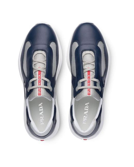 Prada Sneakers mit Funktionsstoff in Blue für Herren