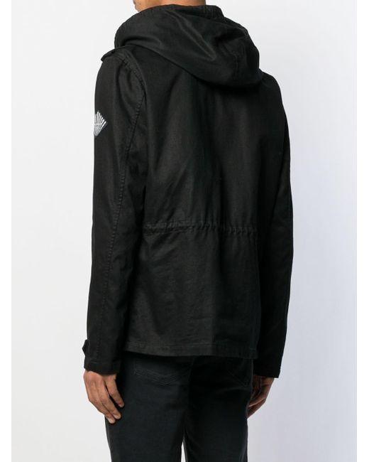 Куртка На Молнии С Капюшоном Saint Laurent для него, цвет: Black