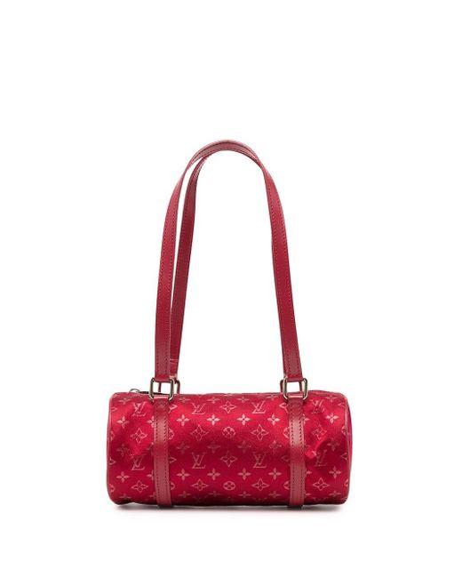 Louis Vuitton 2002 プレオウンド Little Paillon ハンドバッグ Red
