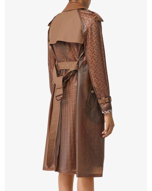 Непромокаемый Тренч Burberry, цвет: Brown