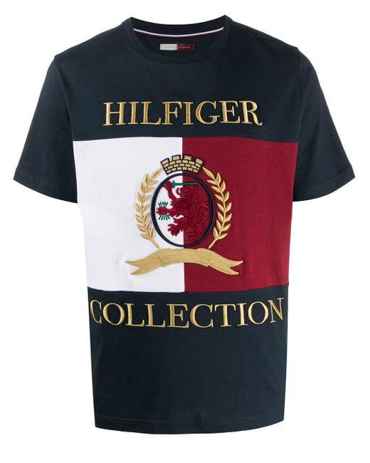 メンズ Tommy Hilfiger ロゴ Tシャツ Multicolor
