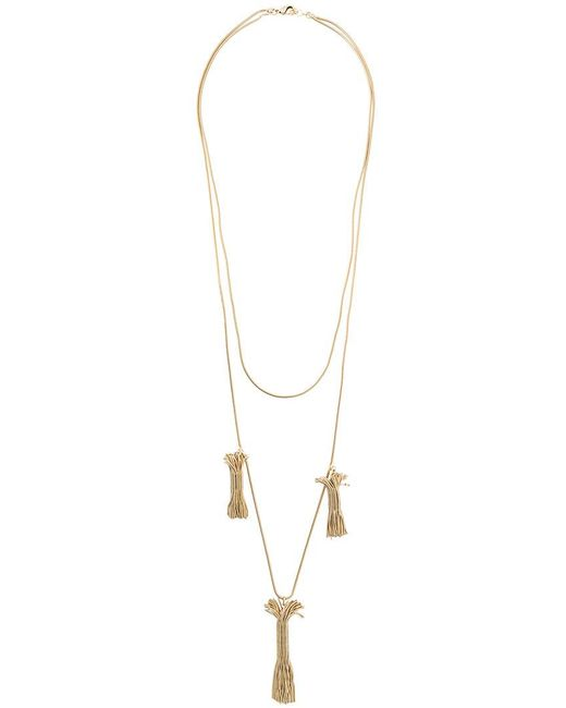 Rosantica - Metallic Pendant Necklace - Lyst
