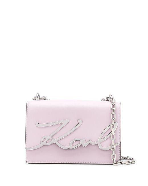 Karl Lagerfeld K/signature ショルダーバッグ S Pink