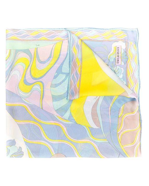 Emilio Pucci Hanami プリント スカーフ Multicolor