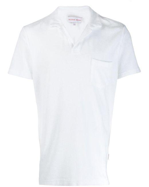 メンズ Orlebar Brown ポロシャツ White
