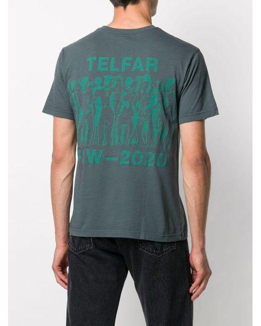 Telfar Not For You Tシャツ Gray