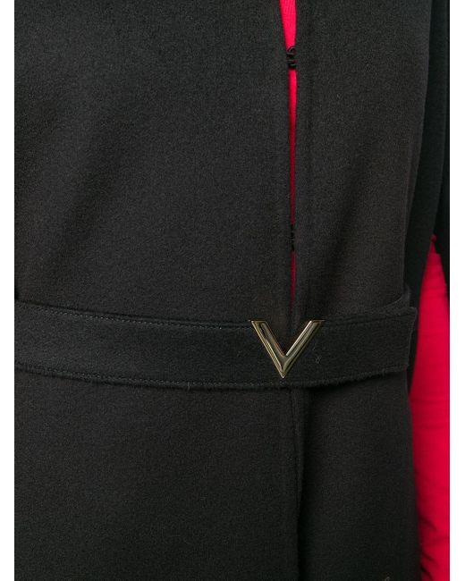 Valentino Vロゴ ケープ Black