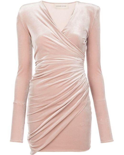 Alexandre Vauthier ベルベット ドレス Multicolor