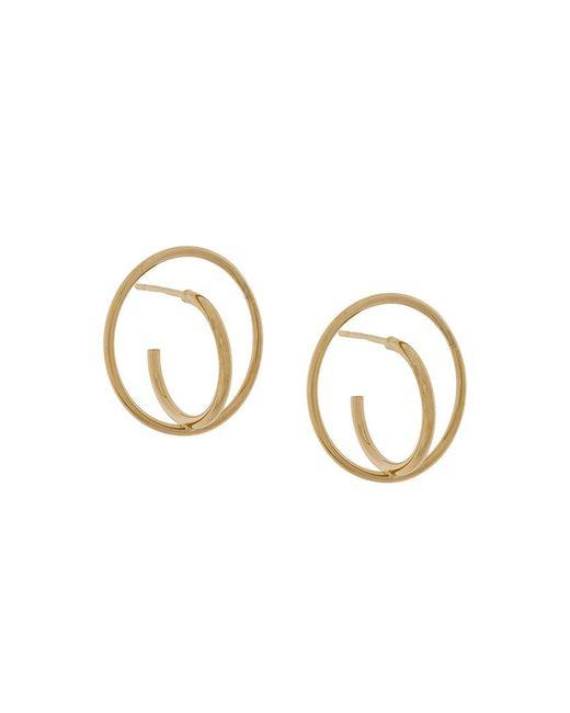 Charlotte Chesnais - Metallic Saturn Small Earrings - Lyst