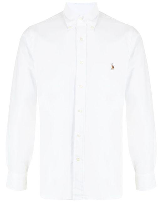 メンズ Polo Ralph Lauren Pony ロゴ シャツ White
