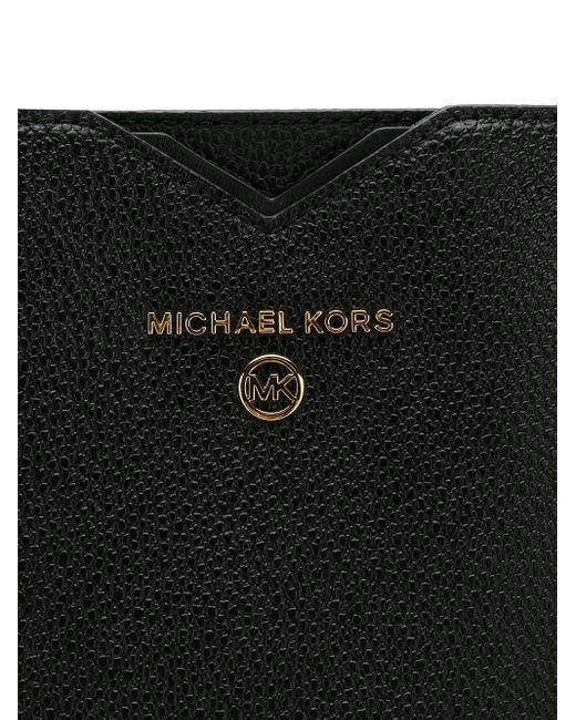 MICHAEL Michael Kors ロゴ ハンドバッグ Black