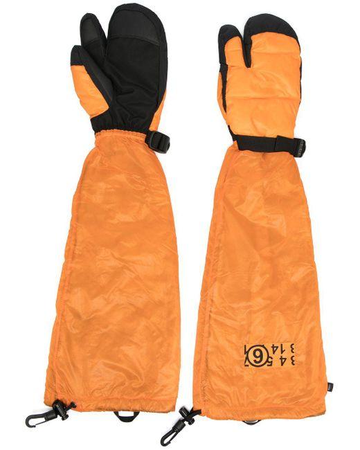 Перчатки Northface X Mm6 На Пуху MM6 by Maison Martin Margiela, цвет: Orange