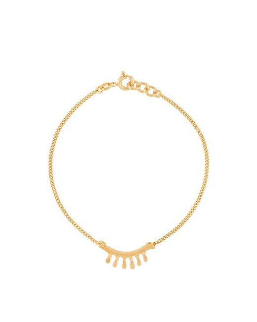 Wouters & Hendrix - Metallic 'in Mood For Love' Eyelash Bracelet - Lyst