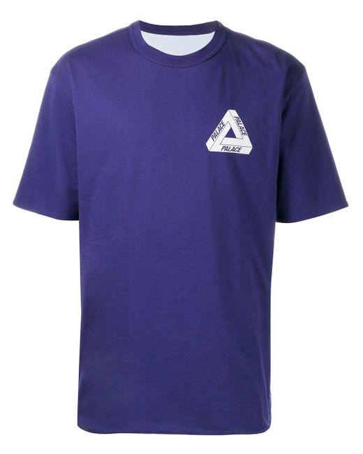 メンズ Palace Reverso Tシャツ Blue