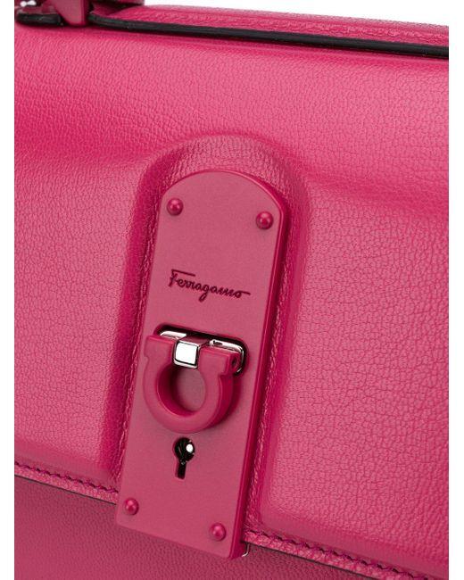 Ferragamo Boxyz ハンドバッグ Pink