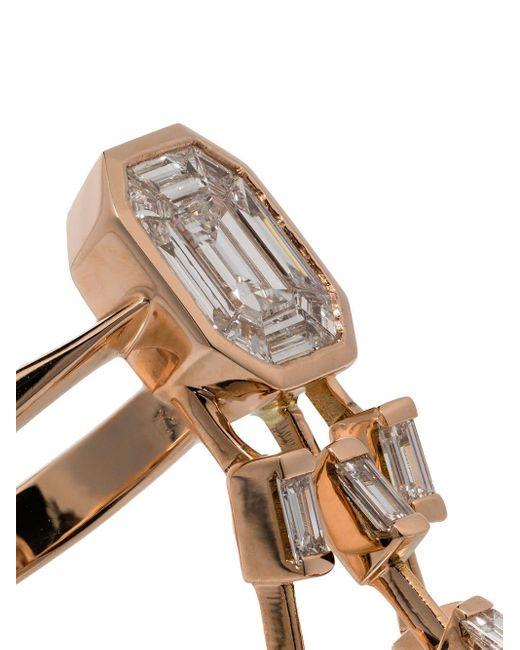 SHAY ダイヤモンドリング 18kローズゴールド Metallic
