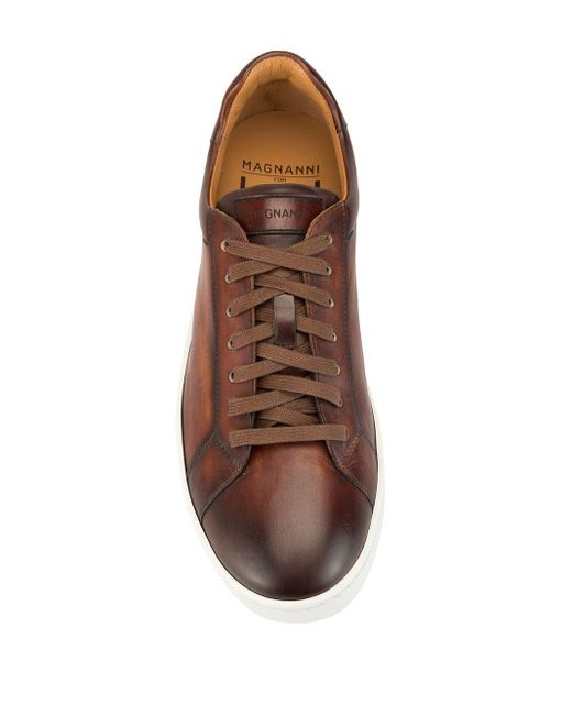 メンズ Magnanni Shoes ローカット スニーカー Brown