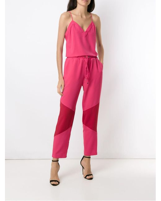 Pantalon Fleur Olympiah en coloris Pink