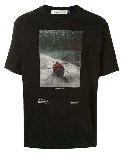 Undercover T-Shirt mit Foto-Print in Black für Herren