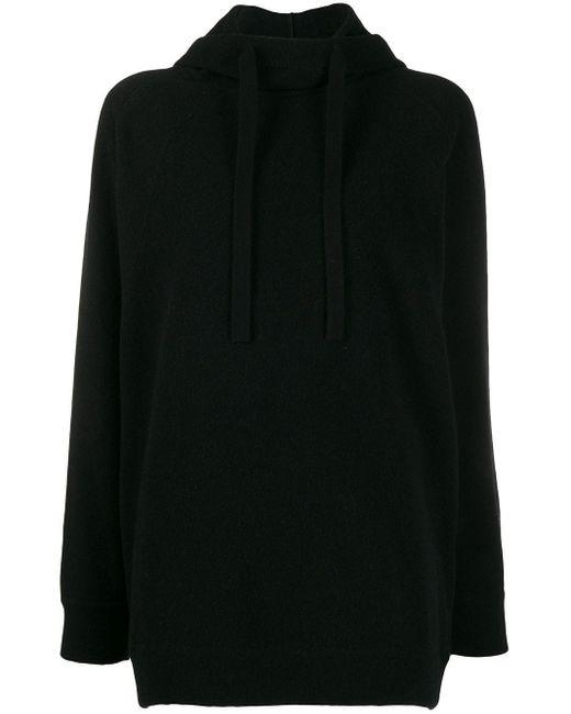 Mrz ドローストリング セーター Black