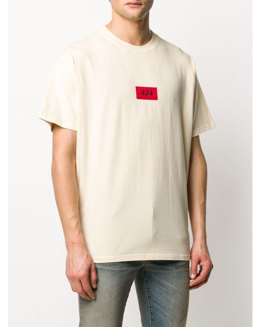 メンズ 424 ロゴ Tシャツ Multicolor
