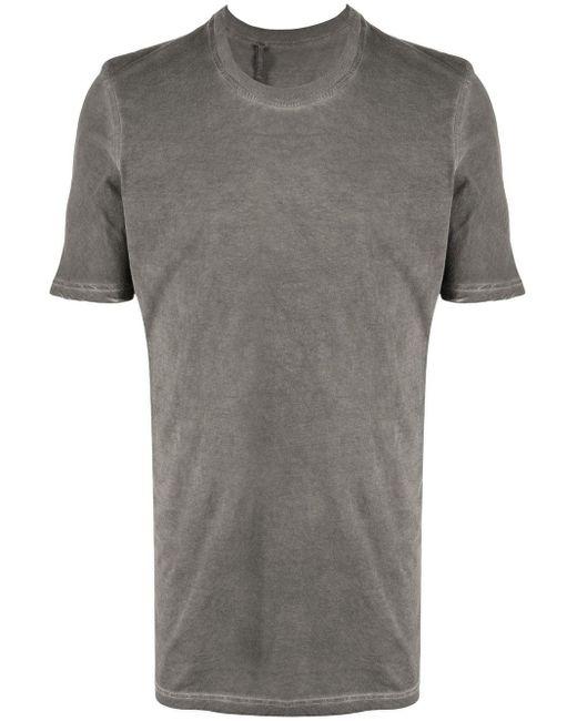 メンズ Boris Bidjan Saberi 11 ロングライン Tシャツ Gray