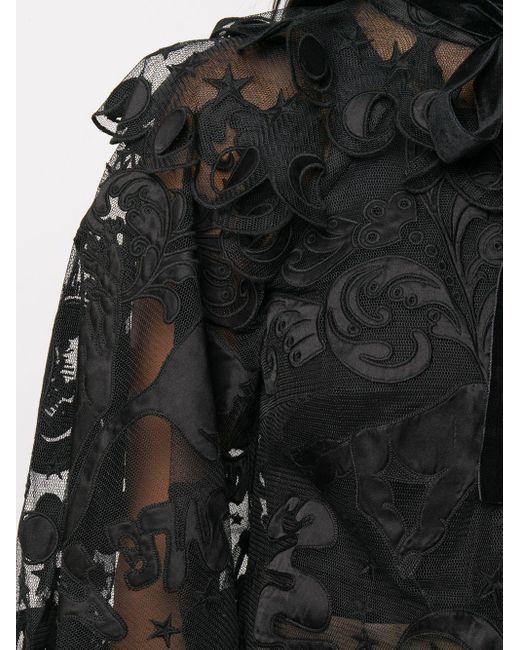 Zimmermann シアーシャツ Black