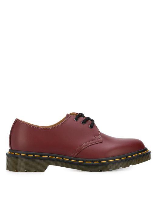 Туфли Дерби Из Коллаборации С Dr. Martens Comme des Garçons, цвет: Red
