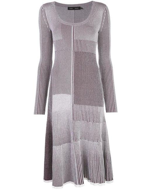 Трикотажное Платье В Технике Пэчворк Proenza Schouler, цвет: White