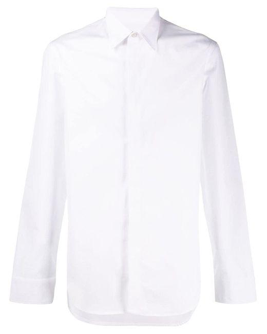 メンズ Maison Margiela コットンシャツ White