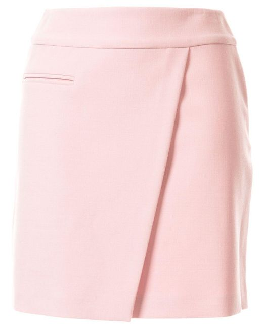 Paule Ka シームディテール ミニスカート Pink