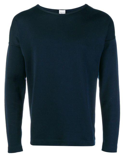 メンズ S.N.S Herning ロングスリーブ Tシャツ Blue