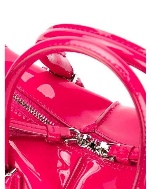 Tod's ダブルジップ ハンドバッグ Pink