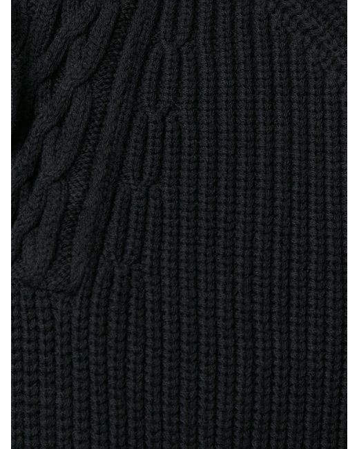 Джемпер С Капюшоном Saint Laurent для него, цвет: Black