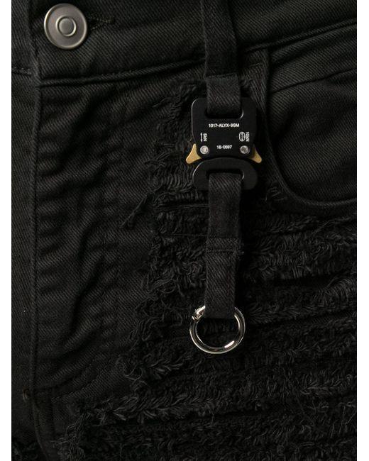 メンズ 1017 ALYX 9SM デニムショートパンツ Black