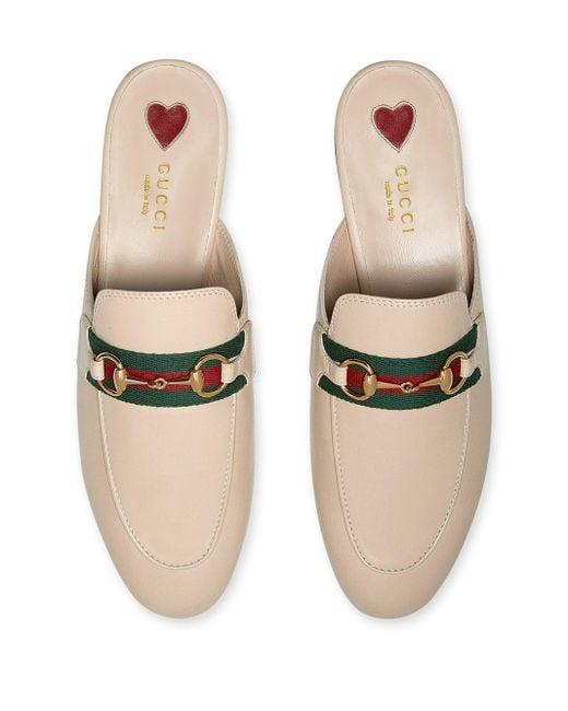 Слиперы Princetown Gucci, цвет: Multicolor