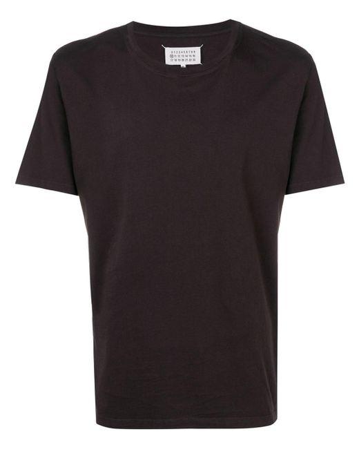 メンズ Maison Margiela クルーネック Tシャツ Black