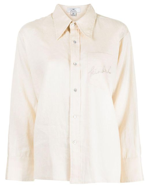 We Are Kindred Brown Vivienne Linen Shirt