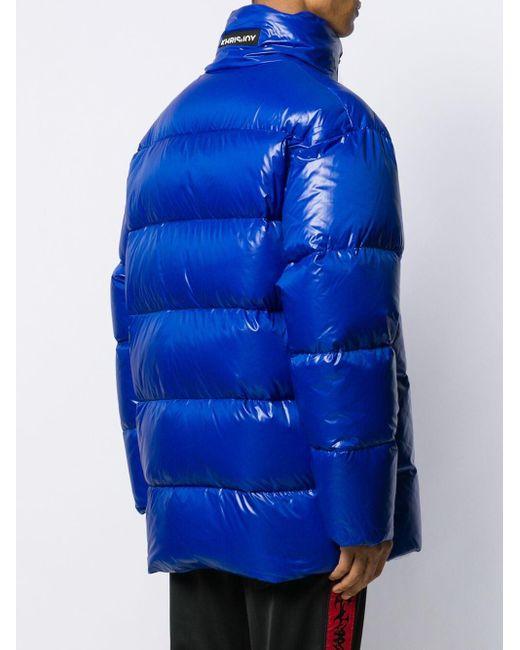 メンズ Khrisjoy パデッドジャケット Blue