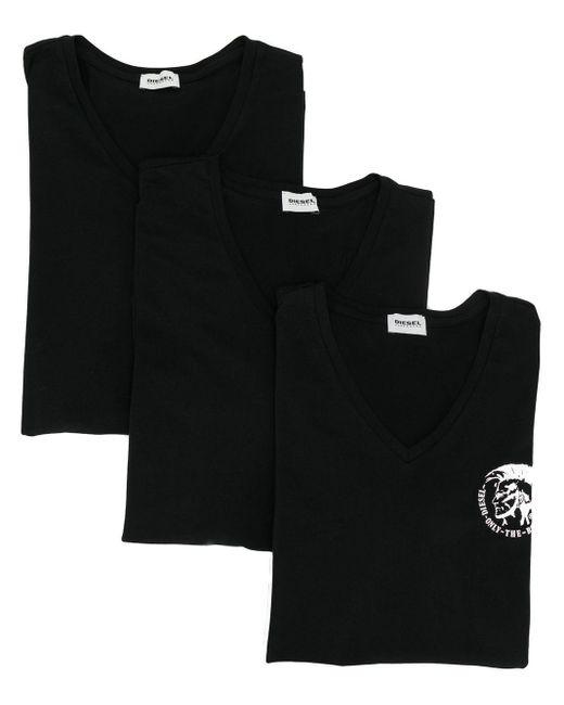 メンズ DIESEL Only The Brave Tシャツ セット Black