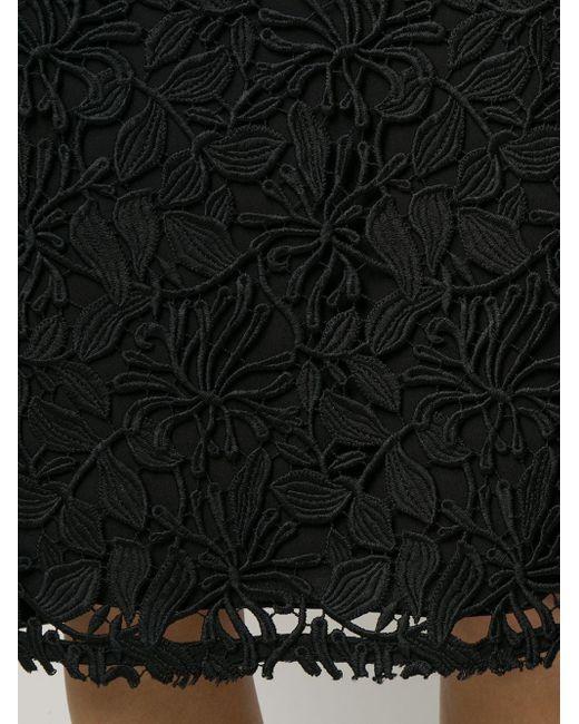 Кружевная Юбка-карандаш N°21, цвет: Black
