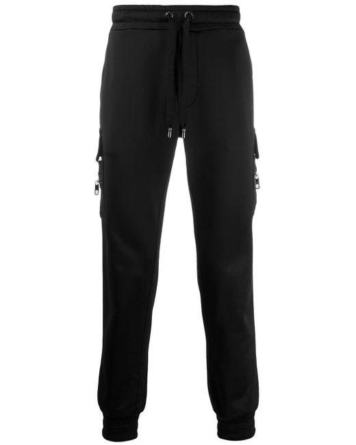 メンズ Dolce & Gabbana ドローストリング トラックパンツ Black