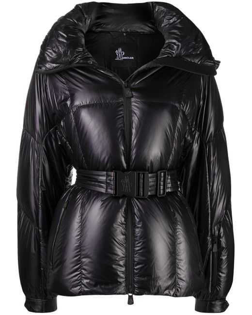 3 MONCLER GRENOBLE Black Padded Winter Jacket