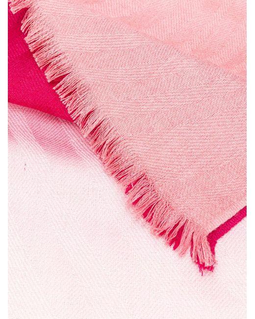 Paul Smith グラデーション スカーフ Pink