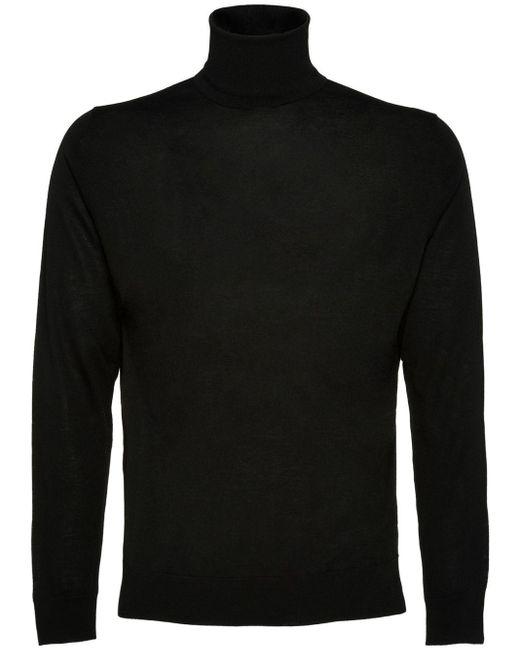 メンズ Prada タートルネック セーター Black