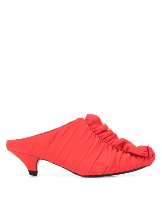 Proenza Schouler ミッドヒール パンプス Red